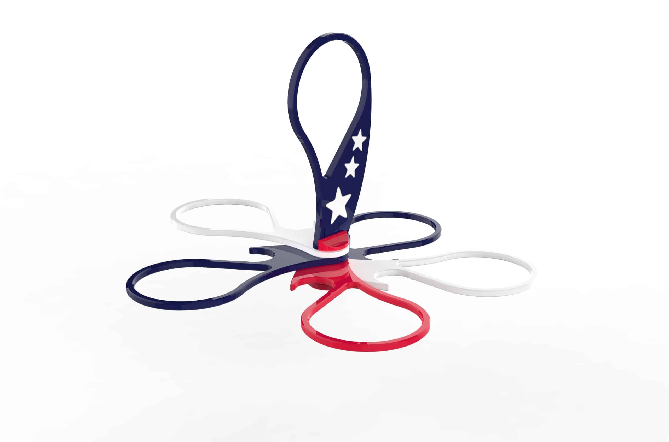 USA - open - 3D