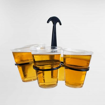 Cup holder for Festival cups that helps to manage waste on sustainable events