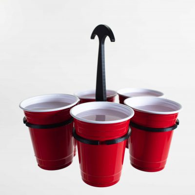 Eco Event solutions cup holder for festival cups by The Original Cupkeeper